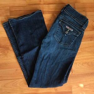 "Hudson Signature Boot Cut Mid-Rise Jeans Size 27"""